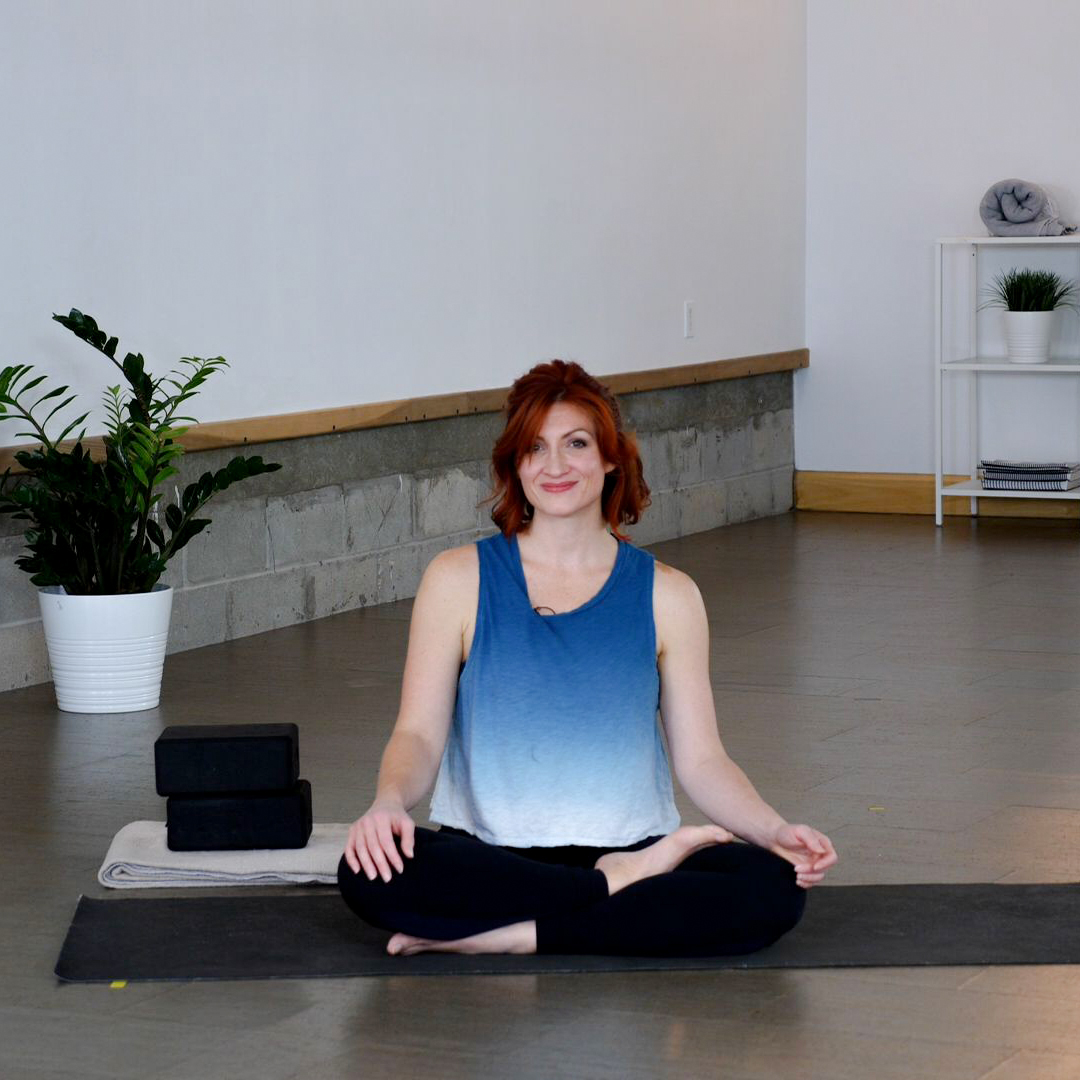 Dayle Extrell teaching a body scan meditation