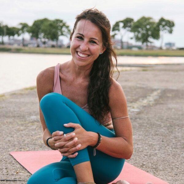Lauren Laudani smiling by the water