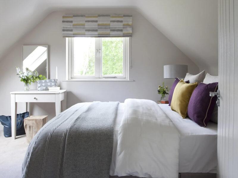 bedroom at villa in Ireland